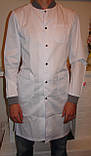 Мужской медицинский халат 3142 (коттон), фото 4