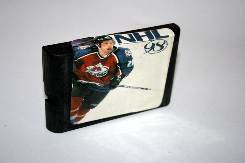 Картридж Sega NHL 98
