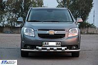 Кенгурятник  Chevrolet Orlando (2013-) / ус двойной