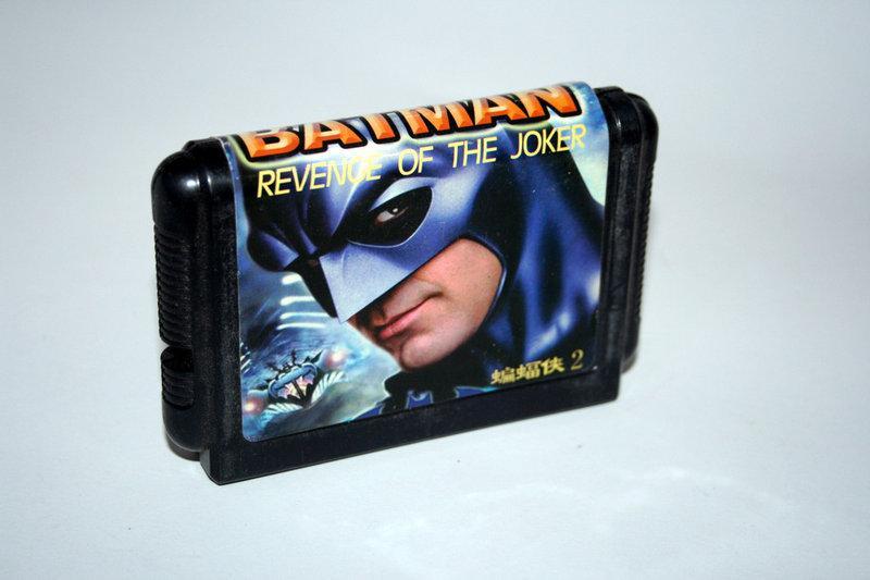 Картридж Sega Batman: Revenge of the Joker