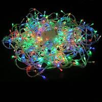 Гирлянда-штора Дождь LED 200 мультик с белым проводом