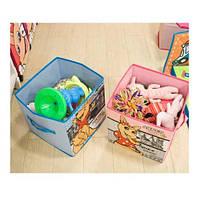 Короб складной для детских игрушек, вещей