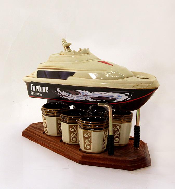 Подарочный набор для алкогольных напитков Яхта