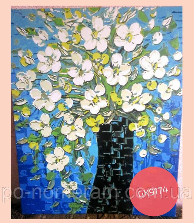 картина Ваза с весенними цветами