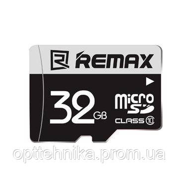 Карта памяти Remax microSD  32GB
