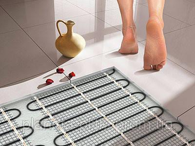 Теплый пол — дополнительный источник тепла в ванной комнате