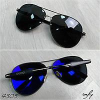 Очки солнцезащитные капли черный