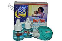 Жидкостной набор от комаров Vertox фумигатор + жидкость без запаха 80 ночей
