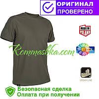 Тактическая футболка Tactical T-shirt Helikon TopCool Olive Green (TS-TTS-TC-02)