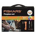 Набор подарочный Fiskars 1025441 (топор х5xxs + нож поплавок 125860 + точилка 120740 + сумка), фото 2