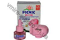 Жидкостной набор от комаров Picnic Baby фумигатор + жидкость без запаха 45 ночей