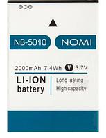 Аккумулятор NB-5010 для Nomi Evo M i5010