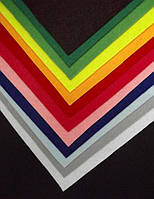 Фетр плотный 250 х 250 х 2мм - 1 лист, цвет на выбор