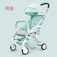 Yoya Care Wide Green Зеленая Прогулочная детская коляска Алюминиевая