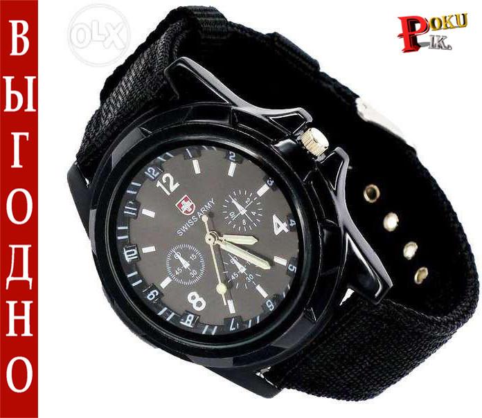 Swiss Army часы наручные (black)