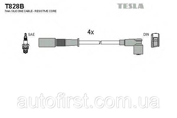 Tesla T828B Высоковольтные провода Fiat