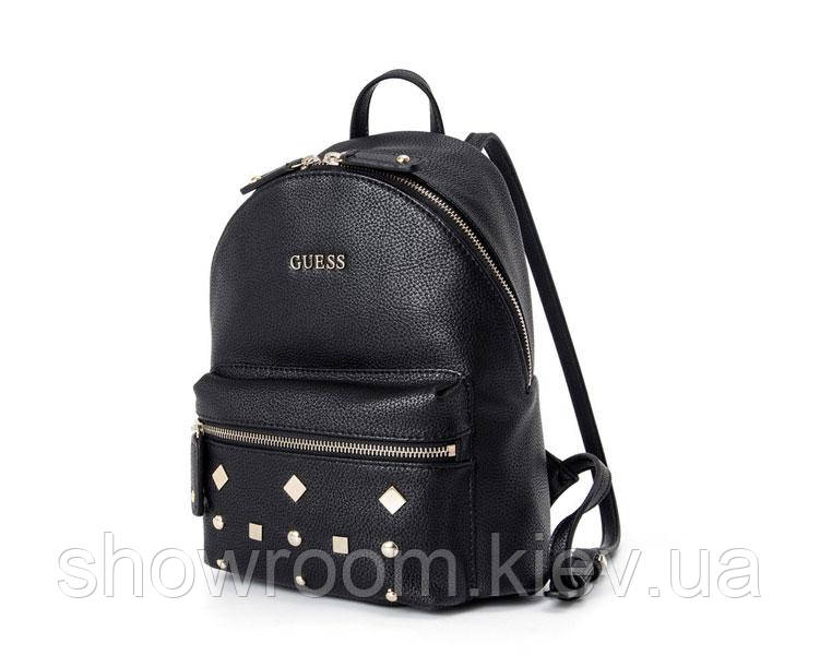 Женский брендовый рюкзак Guess (128) black, фото 1