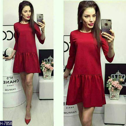Платье с оборкой внизу, фото 2