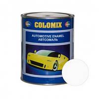 Автокраска 101 Белая COLOMIX алкидная краска 1л