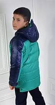 Курточка детская демисезонная Драйв для мальчика(122-128-134-140см.), фото 3