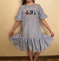 Летний сарафан платье на девочку, фото 1