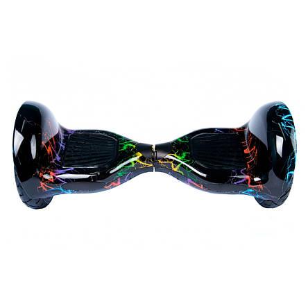Гироскутер Smart Way разноцветная молния, фото 2