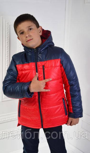 Курточка дитячий демісезонний Драйв для хлопчика(104-110-116см.)