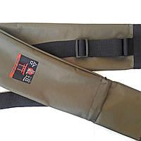 Чехол плотный для оружия с карманом хаки (145 см)