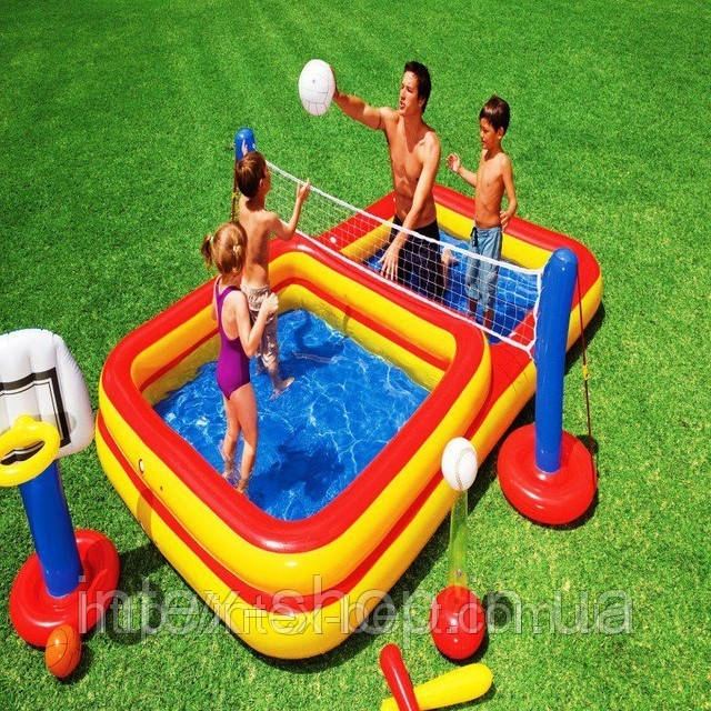 Новинки!!! Водный игровой центр Intex 56466 (338х201х117см)