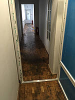 Двери офисные из металлопластика
