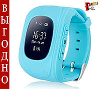 Детские умные часы Smart watch Q50 (Голубой)