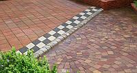 Виды и варианты укладки тротуарной плитки