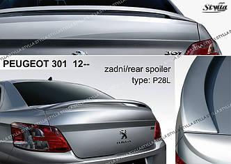 Спойлер тюнинг Peugeot 301