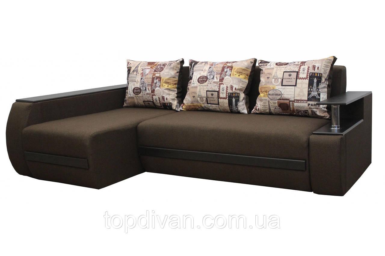 "Угловой диван ""Гаспаро"" ткань Париж"