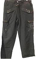 Мужские летние брюки Akademiks темно-серые
