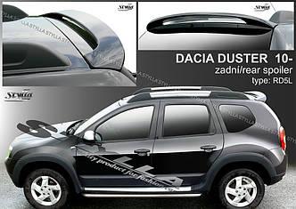 Спойлер Dacia Duster козырек