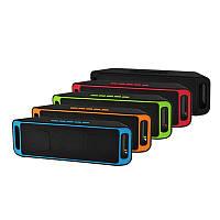 Bluetooth колонка A2DP 208 красна, синяя, серая, оранжевая. зеленая, фиолетовая