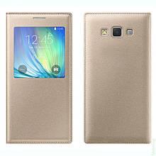 Book-Case Original Samsung G530 Gold