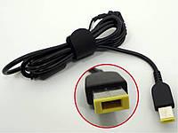 DC кабель от блока питания к ноутбуку Lenovo (USB+Pin Прямоугольный).