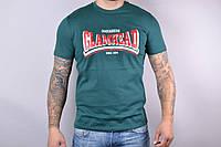 Мужская котоновая футболка SM82 (р-р 46-52) оптом со склада в Одессе