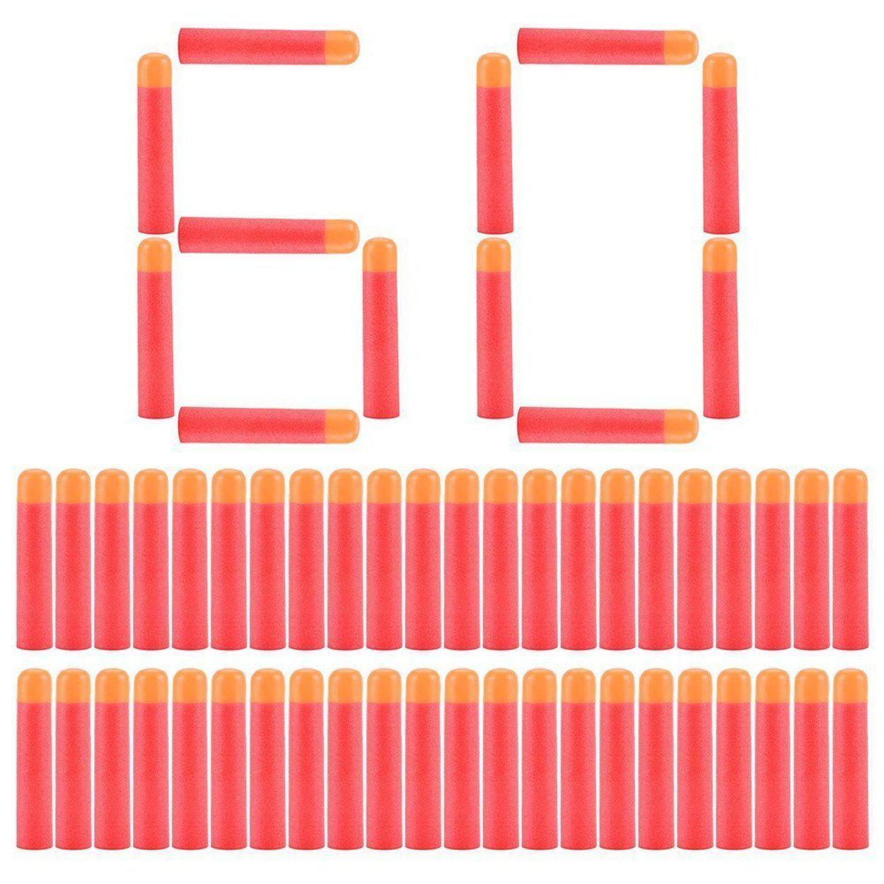 Набор из 60 стрел (мягкие пули) для игрушечного оружия Nerf Mega (Мега)