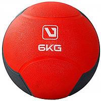 Медбол твердый 6 кг MEDICINE BALL LS3006F-6