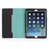 GRIFFIN Back Bay Folio for iPad Air - Polka Black/White/Turquoise (GB37900)