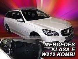 Дефлекторы окон (ветровики)  Mercedes E-klasse 212 2009r. → combi 4шт (Heko)
