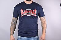 Мужская котоновая футболка SM95 (р-р 46-52) оптом со склада в Одессе