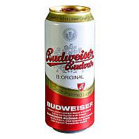 Пиво Budweiser 0.5л