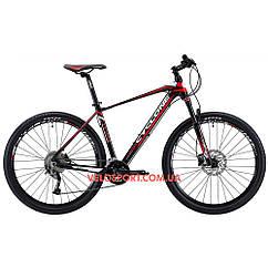 """Горный велосипед Cyclone LX 27.5 дюймов 21"""" черно-красный"""