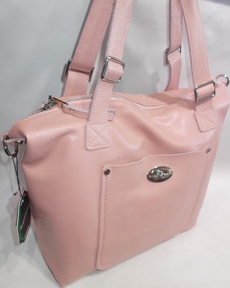 6c002cf8f67a женская кожаная сумка Galanty 10577 Pink кожаные женские сумки