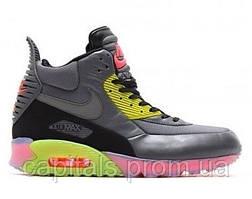 "Мужские кроссовки Nike Air Max 90 SneakerBoot Ice ""Dark Grey/Black/Force Green/Hyper"""
