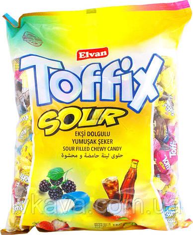 Жевательные конфеты Toffix Sour  , 1000 гр, фото 2